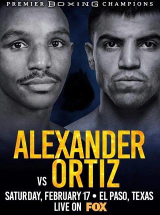 Alexander vs Ortitz