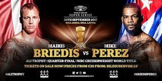 Briedis vs Perez
