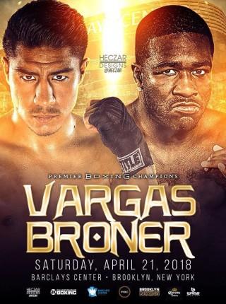 Broner vs Vargas 1