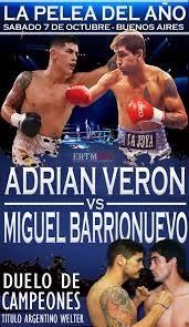 Cesar Miguel Barrionuevo vs Adrian Luciano Veron