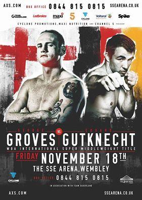 Groves vs Gutknecht Fight-Poster