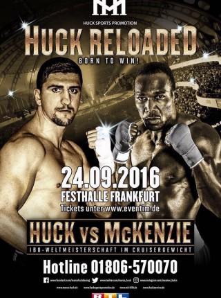 Huck Frankfurt Poster