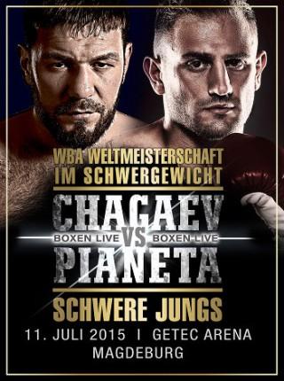 WBA Weltmeisterschaft Schwergewicht Chagaev vs. Pianeta