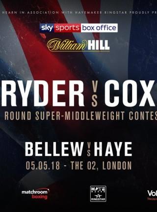 Ryder vs Cox