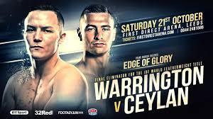 Warrington vs Ceylan