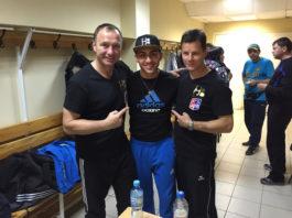Artem Harutyunyan und Trainer Michael Timm