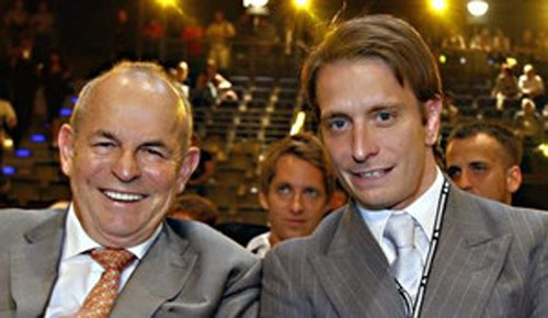 Wilfried Sauerland und Kalle Sauerland