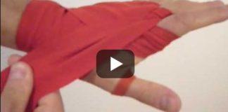 Youtube Vorschaubild Bandage wickeln