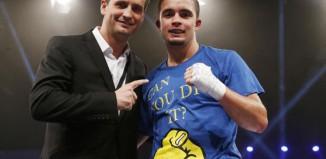 Anthony Yigit mit Nisse Sauerland