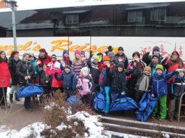 Winterolympiade der Behinderten Friedrichsbrunn