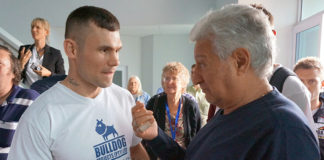 Golden Gloves Promoter Rodney Berman und Martin Murray