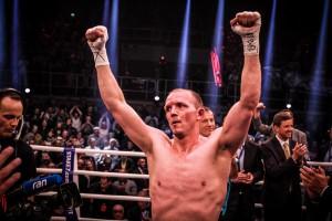 Nach der erfolgreichen Titelverteidigung gegen Robin Krasniqi