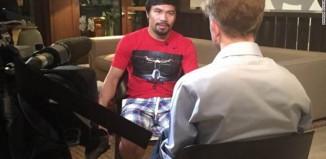 CNN Korrespondent Ivan Watson mit Manny Pacquiao