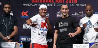 Sergey Kovalev gegen Nadjib Mohammedi