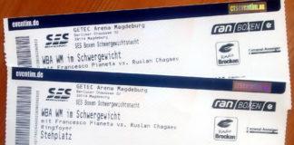 Foto Tickets Schwere Jungs