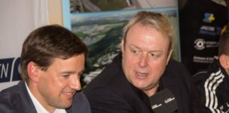 Sauerland-Geschäftsführer Frederick Ness und Feigenbutz-Manager Rainer Gottwald / Foto: Heiko Schmitt
