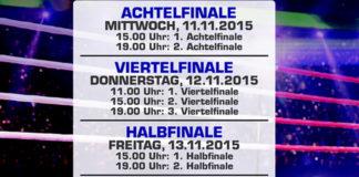 Deutsche Jugendmeisterschaft im Boxen