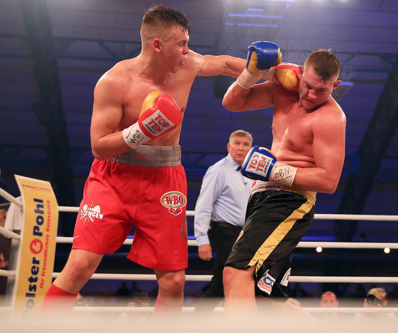 Boxkampf Tom Schwarz