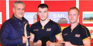 Ulf Steinforth, Jurgen Uldedaj und Rene Friese / Foto: SES Team/P. Gercke