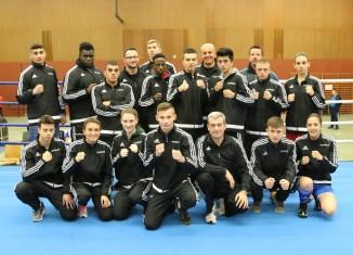 Team NRW in ihren neuen Trainingsanzügen
