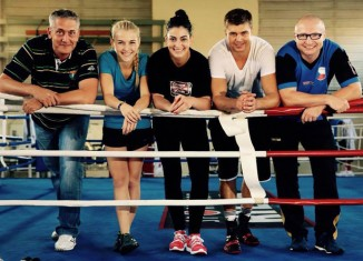 Ulf Steinforth, Fabiana Bytyqi, Lucie Sedláčková, Dirk Dzemski und Lukáš Konečný / Foto: SES Team