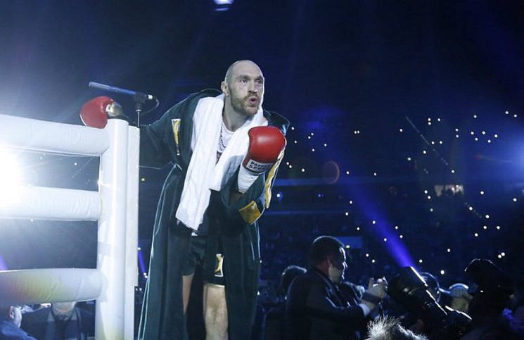 Tyson Fury entthront Wladimir Klitschko