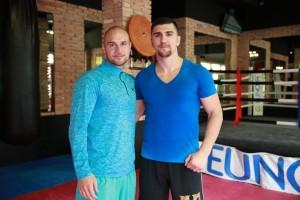 Varol Vekiloglu und Marco Huck (Foto: Anna Mieskes-Petrenko)