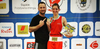 Lukas Wilaschek und Nadine Apetz