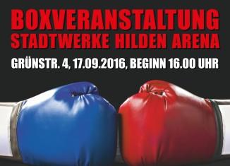 Veranstaltungshinweis Boxen: Boxring Hilden