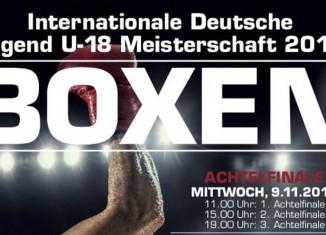 Internationale Deutsche Meisterschaften im Boxen U18