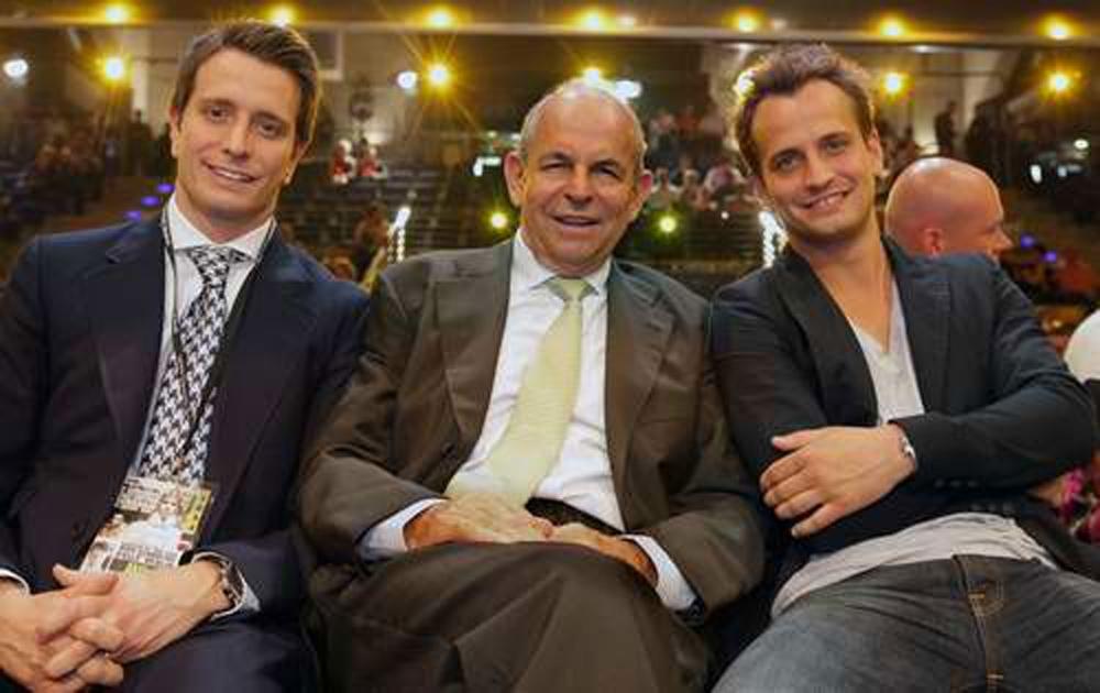 Kalle, Wilfried und Nisse Sauerland