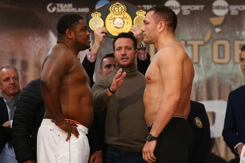 Kubrat Pulev vs. Samuel Peter - Weigh-in