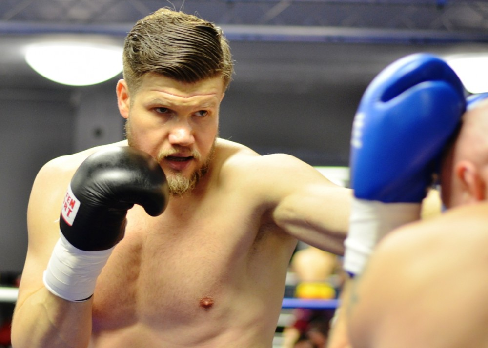 "Alexander ""Sascha"" Dimitrenko / Foto: EC Boxing"