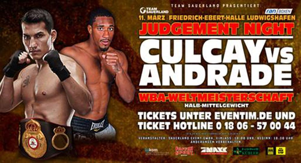 Jack Culcay gegen Demetrius Andrade
