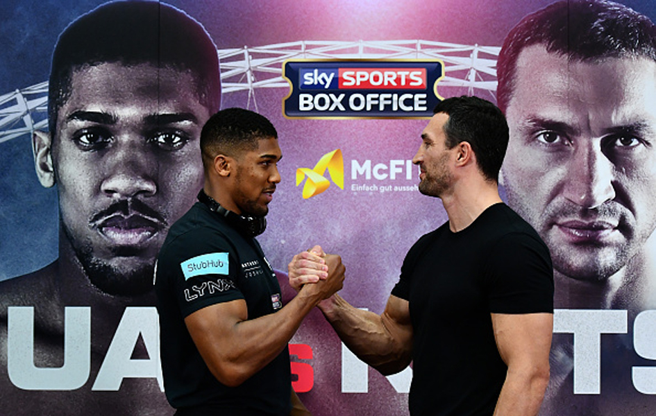 Anthony Joshua v Wladimir Klitschko Press Conference