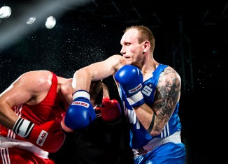 NSV-Boxer Roman Gorst / Fotograf: Christoph Keil