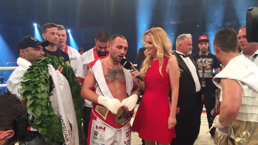 Deniz Ilbay bleibt GBU-Weltmeister im Weltergewicht (Foto: Sebastian Heger)