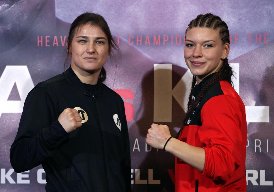 Nina Meinke vs Katie Taylor