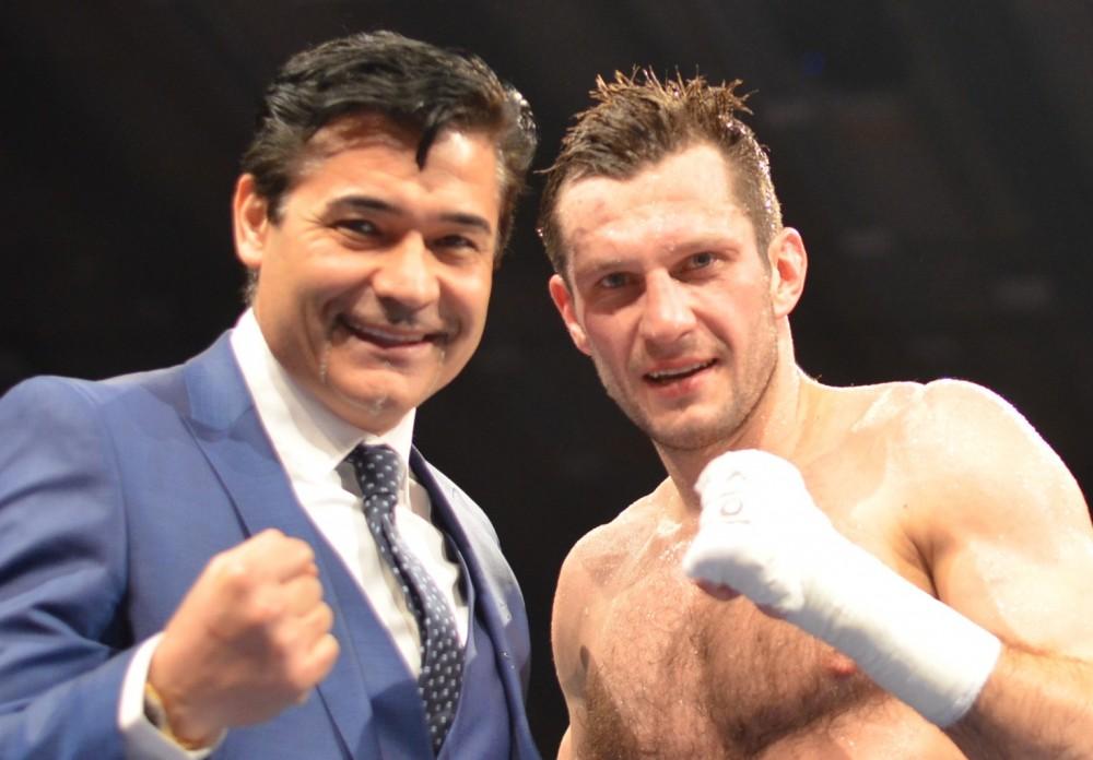Erol Ceylan und Igor Mikhalkin / Foto: Ec Boxing