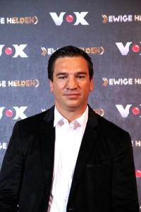 """Markus Beyer beim VOX """"Ewige Helden"""" Pressetermin, im Dezember 2015. / Foto: 9EkieraM1"""