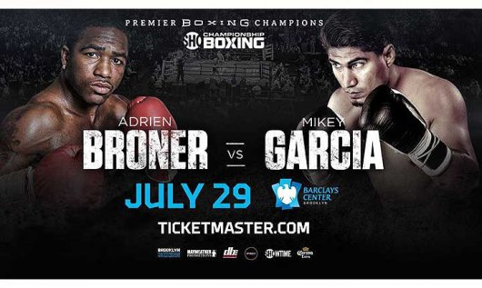 Garcia boxing poster