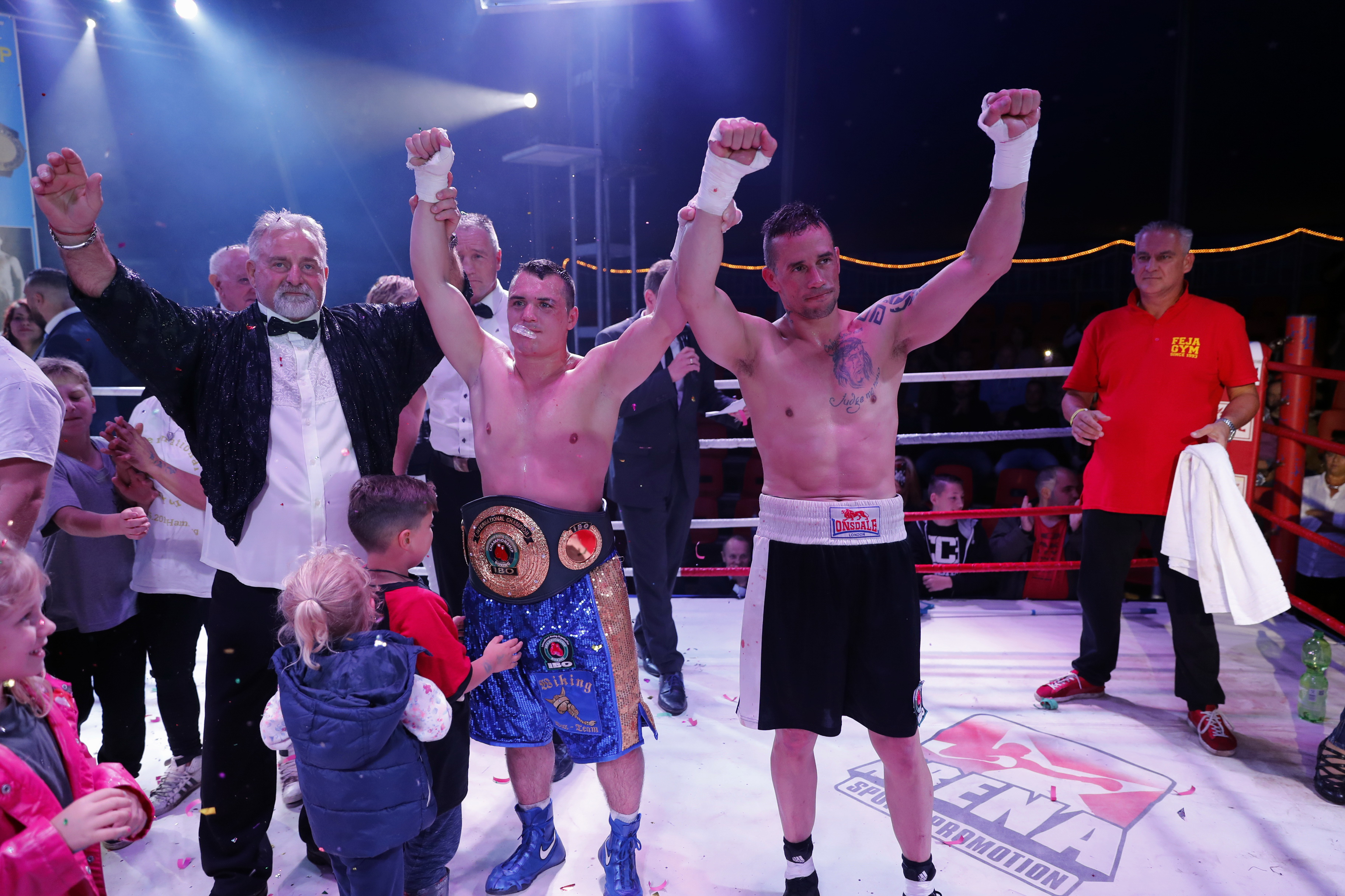 Neuer IBO international Champion Angelo Frank