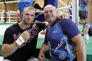 Alexander Peil und DBV Coach Valentin Silaghi / Foto: Wolfgang Wycisk