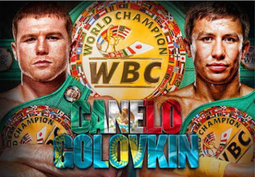 Canelo vs Golovkin Poster