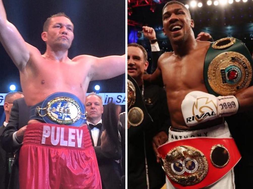 Kubrat Pulev vs. Anthony Joshua