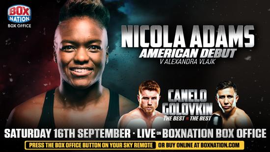 Nicola-Adams-American-Debut