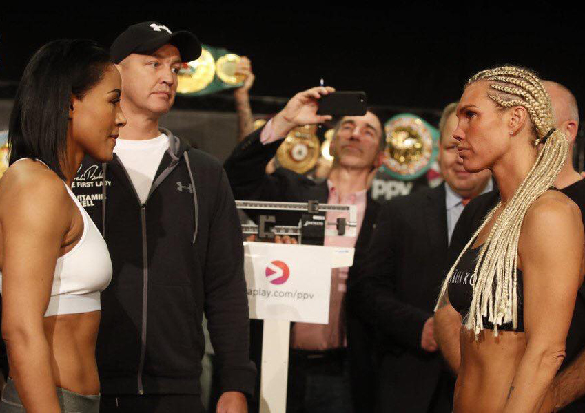Braekhus vs Lauren