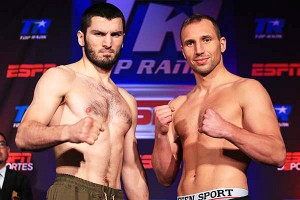 Bterbiev vs Koelling weight in 2