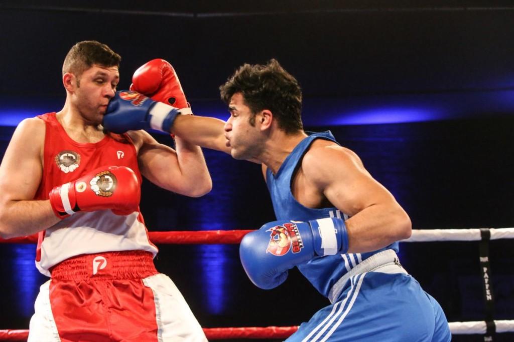 Zlatko Strauch vs. Ammar Abbas / Foto: Torsten Helmke