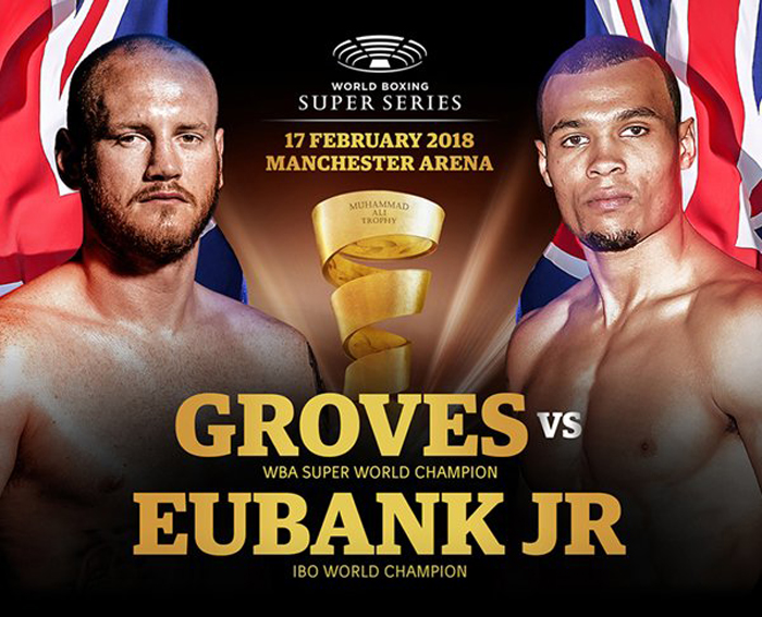 Groves vs Eubank Poster